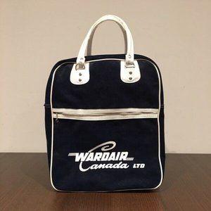 Vintage Wardair Canada Travel Bag